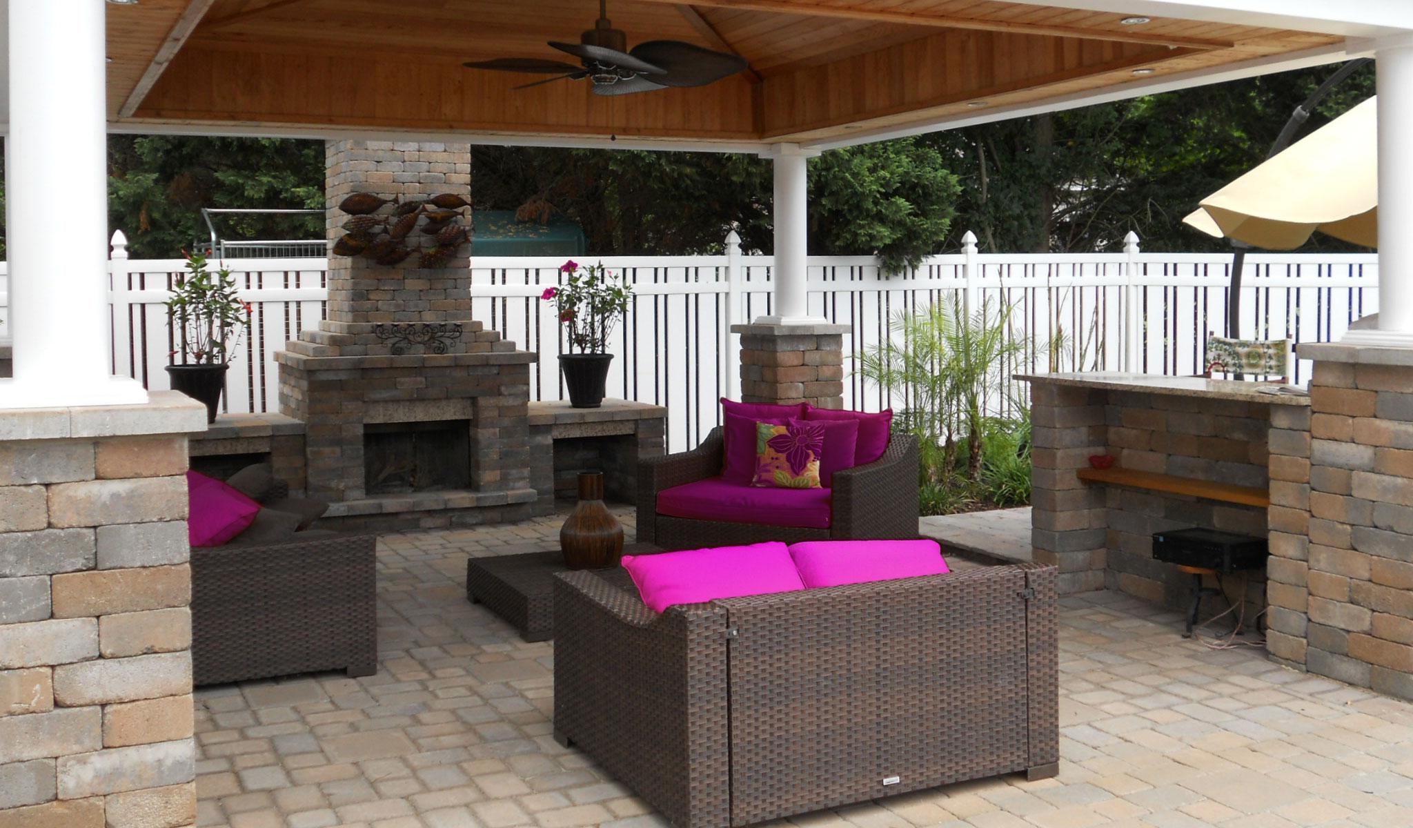 Outdoor Fireplace NJ Athenia Mason Supply