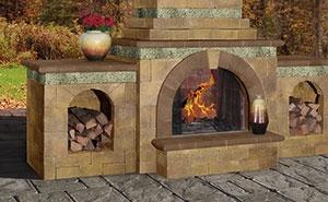 Cambridge Pavingstone Fireplaces