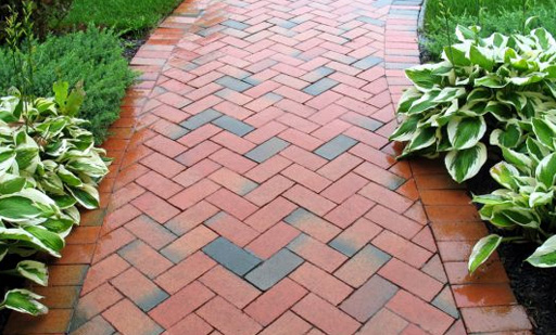 Clay Brick Pavers